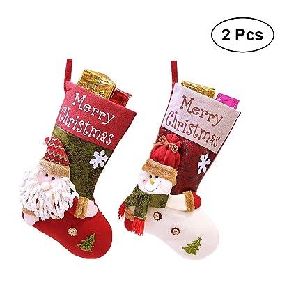 toymytoy big size christmas stockingscute xmas stocks wall hanging decorations kids gift stocking tree - Big Christmas Stockings