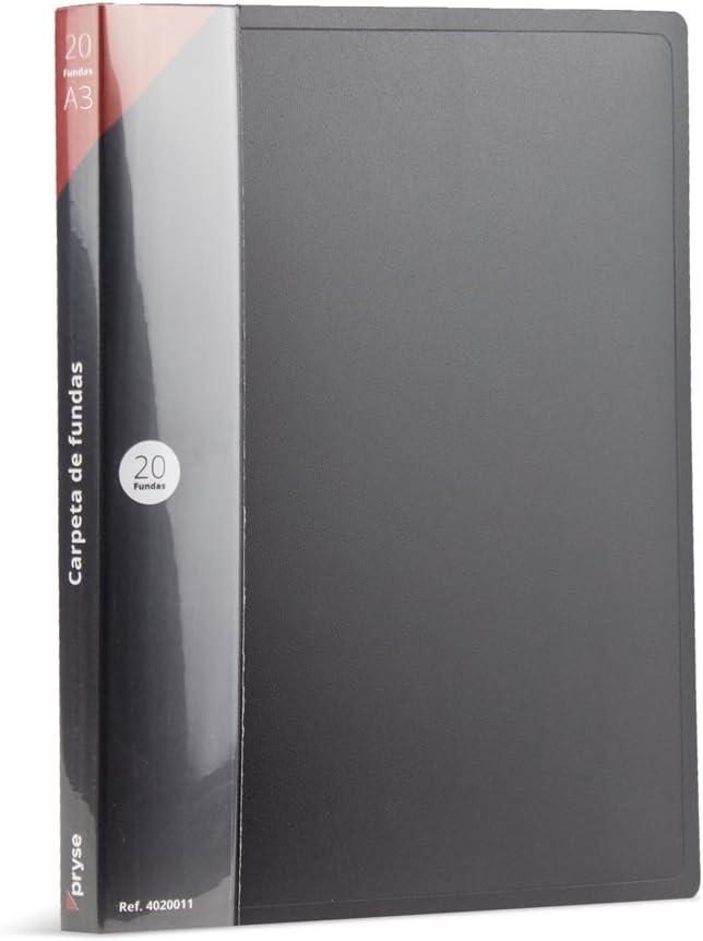 Pryse F20AK-A3 - Carpeta fundas, color negra: Amazon.es: Oficina y ...