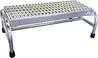 product image for Step Stand, 10 In H, 500 lb., Aluminum