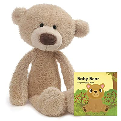 "GUND Toothpick Teddy Bear Stuffed Animal Soft Plush, Beige, 22"" Gift Set: Toys & Games"