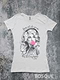 Dolly Parton Bubblegum Bubble Style Shirt Figure out who you are then do it on purpose quote / Country T-Shirt Southern Tee - Ink Printed