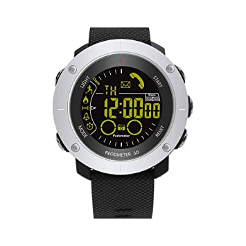 TDOR Smartwatch IP68 Impermeable Memoria Registro Datos Deportivos ...