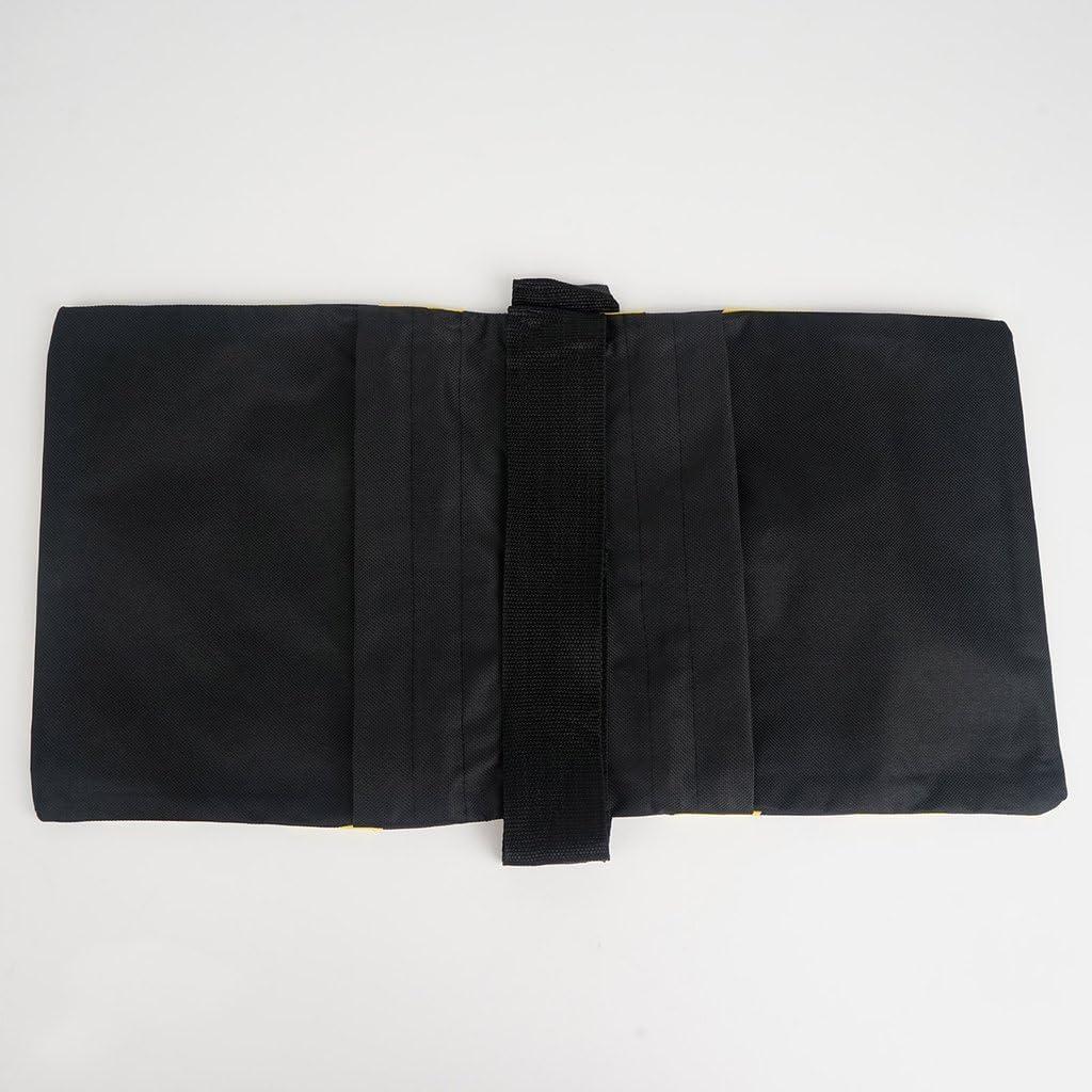 Efavormart 4 Pack Heavy Duty Double Zipper Nylon Sand Weight Saddle Bag for Light Backdrop Stands Tripods Orange//Black