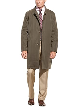 London Fog Mens Durham Rain Coat With Zip Out Body At Amazon Mens Clothing Store