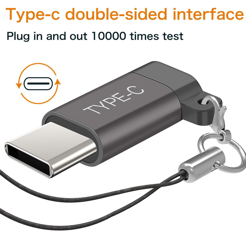 Amazon.com: Adaptador USB tipo C, paquete de 4 unidades ...