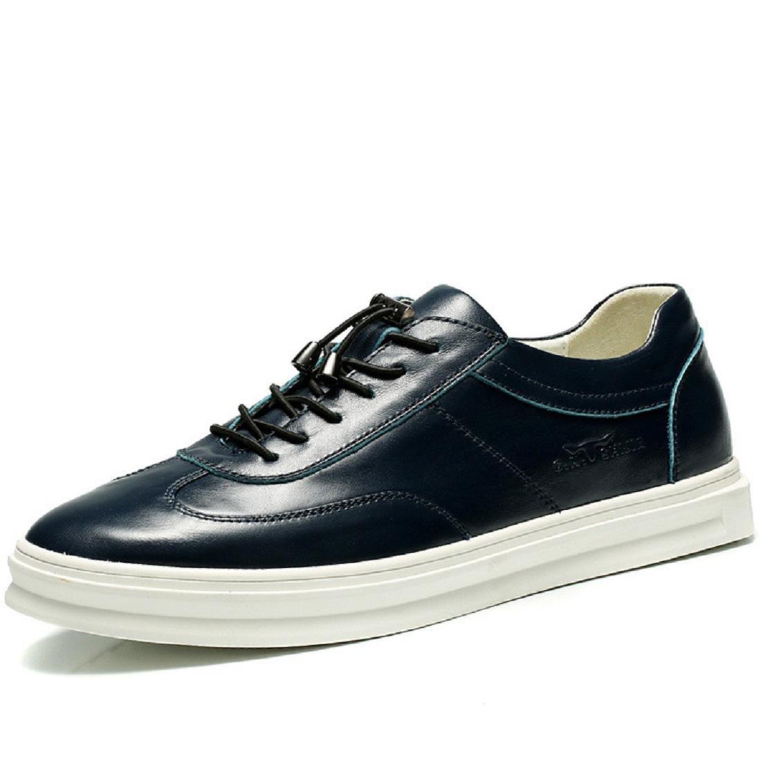 Herren Lederschuhe Lässige Schuhe Atmungsaktiv Freizeitschuhe Mode Flache Schuhe Schuhe erhöhen EUR GRÖSSE 38-44