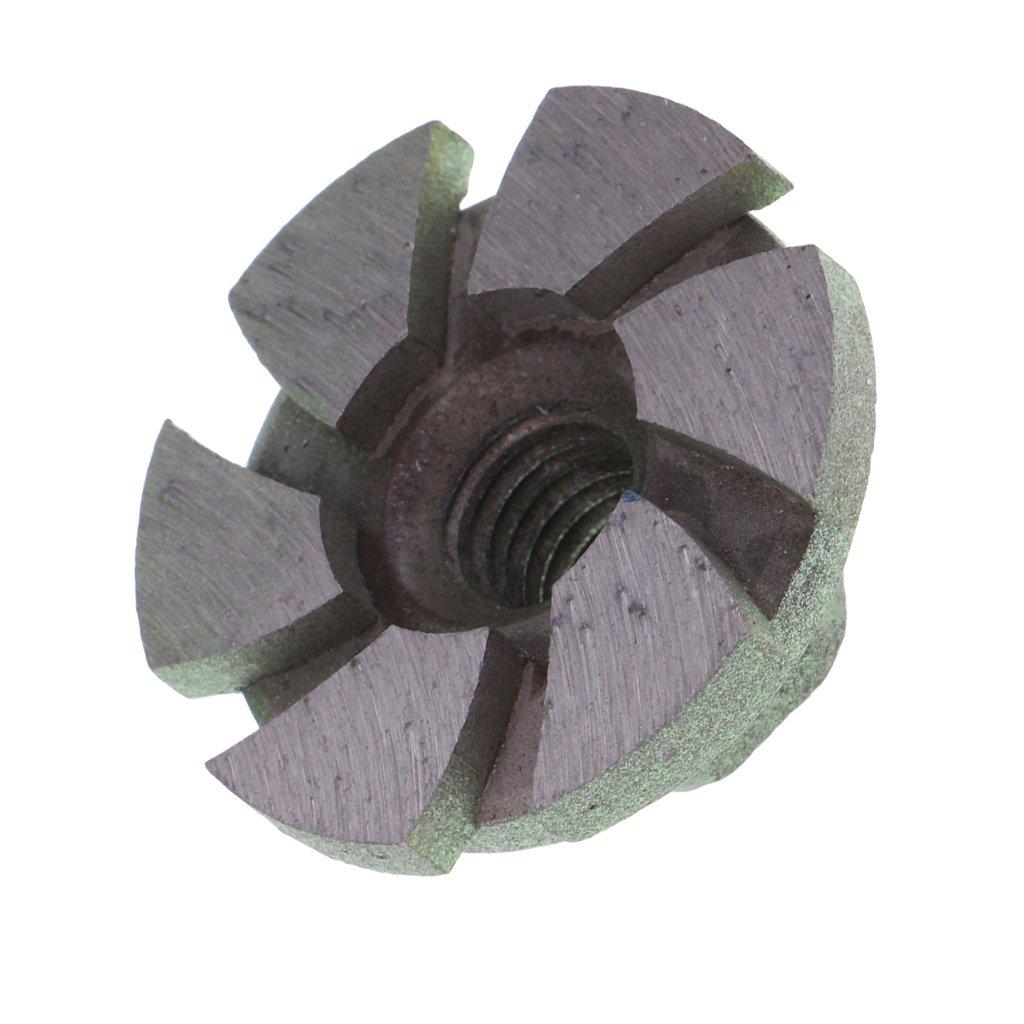 B Baosity 1 Pc Rueda Abrasiva de Diamante Herramienta de Albañ ilerí a de Piedra de Material Metal - Multicolor, 60 mm