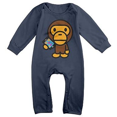 c83c362c Amazon.com: Famouse Rapper Singer Kid Cudi Bape Baby Onesie Romper Jumpsuit  Bodysuits: Clothing