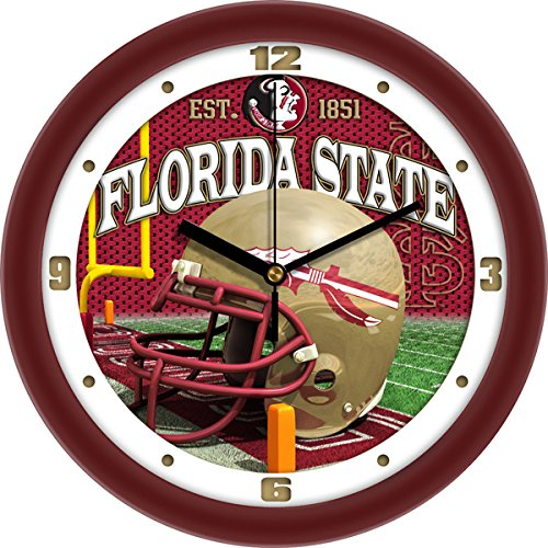 Florida State Seminoles Wall Clock (Florida State Seminoles Football Helmet Wall Clock)