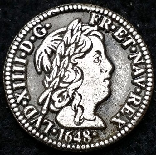 Unbranded 1648 1982 TYPE 1 MEDAILLE, LOUIS XIV MCDONALDS CANADA TOKEN MEDAL, 24MM, ↑↑, 10G