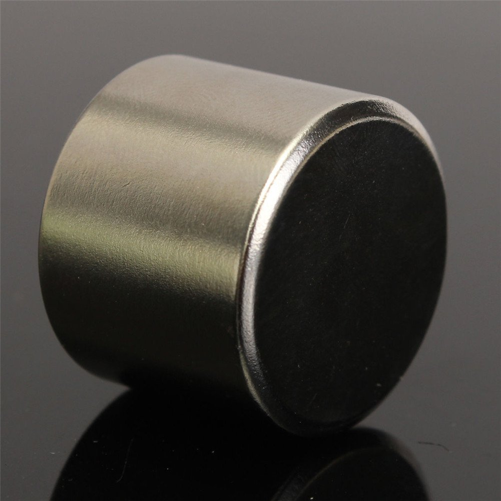 MOLRE-YAN 1 pieza Super fuerte redondo cilindro imán 25 x 20 mm disco Rare Tierra Neodimio N52