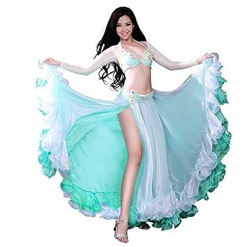 ROYAL SMEELA Ropa de Mujer para Danza del Vientre Sostén Cinturón ...