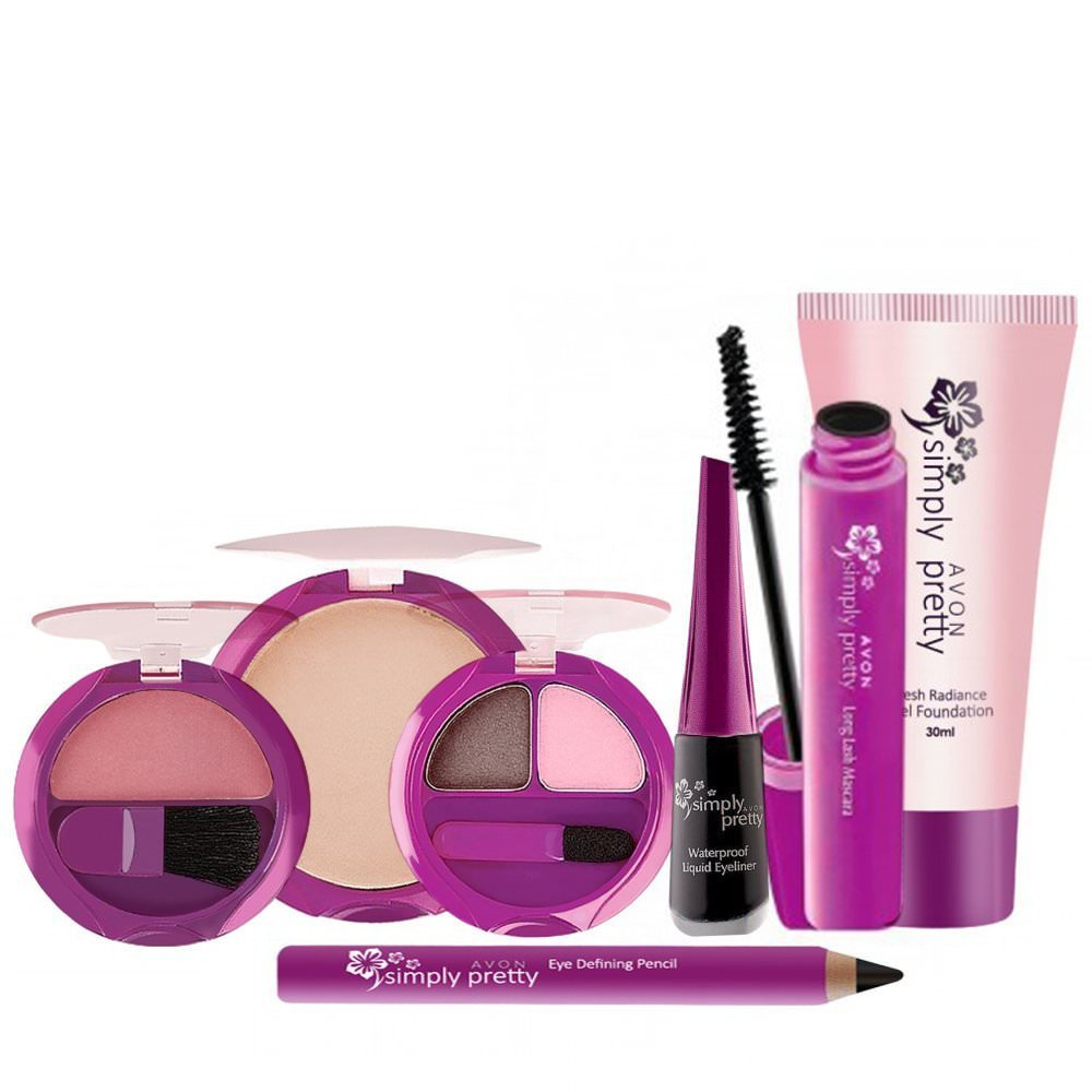 65e1b54e49d Buy Avon Simply Pretty Full Beauty Set (Set of 5) Online at Low Prices in  India - Amazon.in