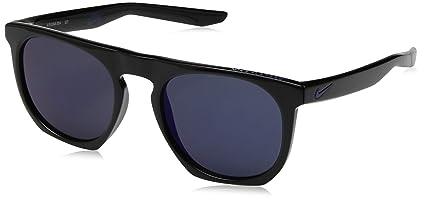 timeless design 570a1 88f4b Nike EV1045-004 Flat spot M Frame Grey with Flash Blue Night Lens Sunglasses ,