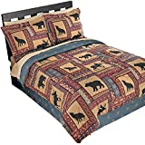 Collections Etc Woodland Scenic Lodge Comforter Set Multi Twin, Twin