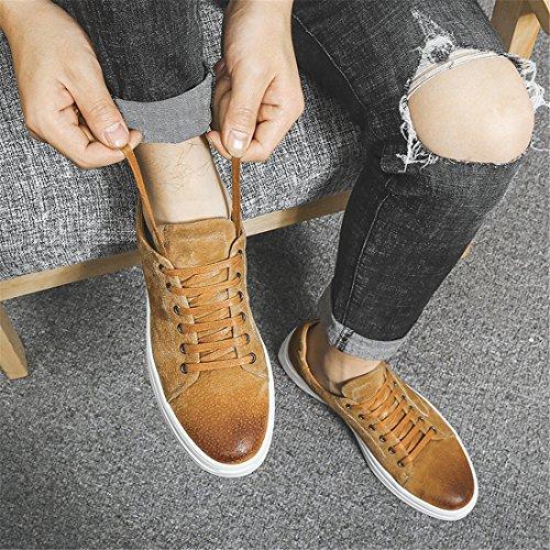 Heren Buitensport Lopende Wandelschoenen Lichtgewicht Casual Sneakers 1862 Zandkleurig