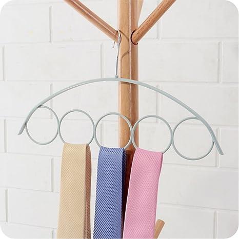 vestibilità classica morbido e leggero servizio eccellente Porta sciarpe, antiscivolo, scialle Holder rack con 5 anelli ...