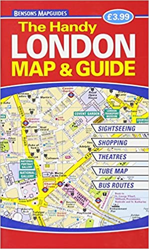 The Handy London Map Guide Bensons MapGuides 9781898929543
