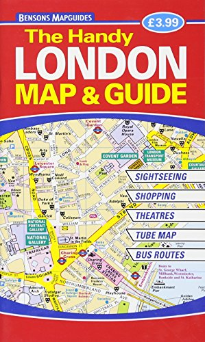 The Handy London Map & Guide - Map Of Underground London