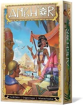 Days of Wonder- Ankhor - Juego de Mesa en Español, Color (SCANK01ES): Amazon.es: Juguetes y juegos