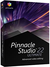 Pinnacle Studio 22 Ultimate - Advanced Video Editing and Screen Recording [PC Disc]