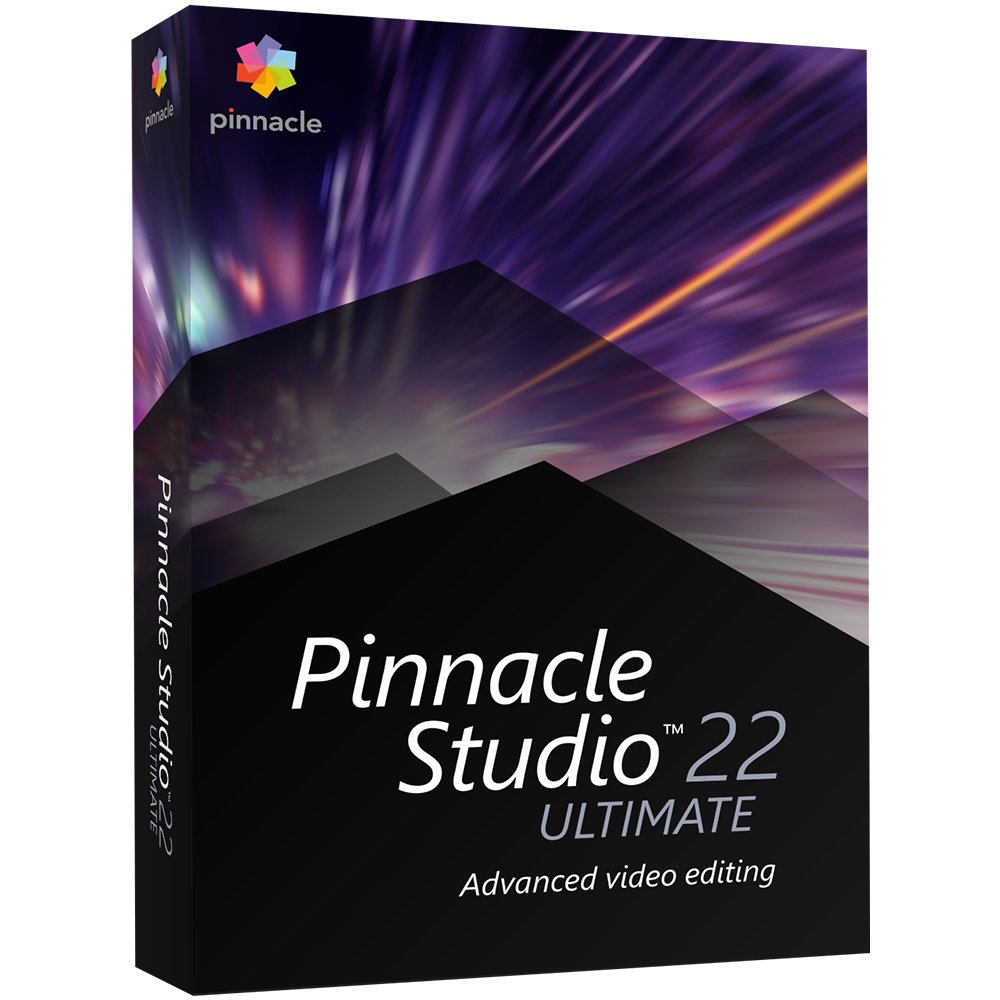 Pinnacle Studio 22 Ultimate - Advanced Video Editing and Screen Recording [PC Disc] [Old Version] by Pinnacle