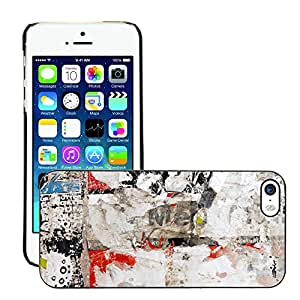 Print Motif Coque de protection Case Cover // V00001933 la pared del cartel // Apple iPhone 5 5S 5G