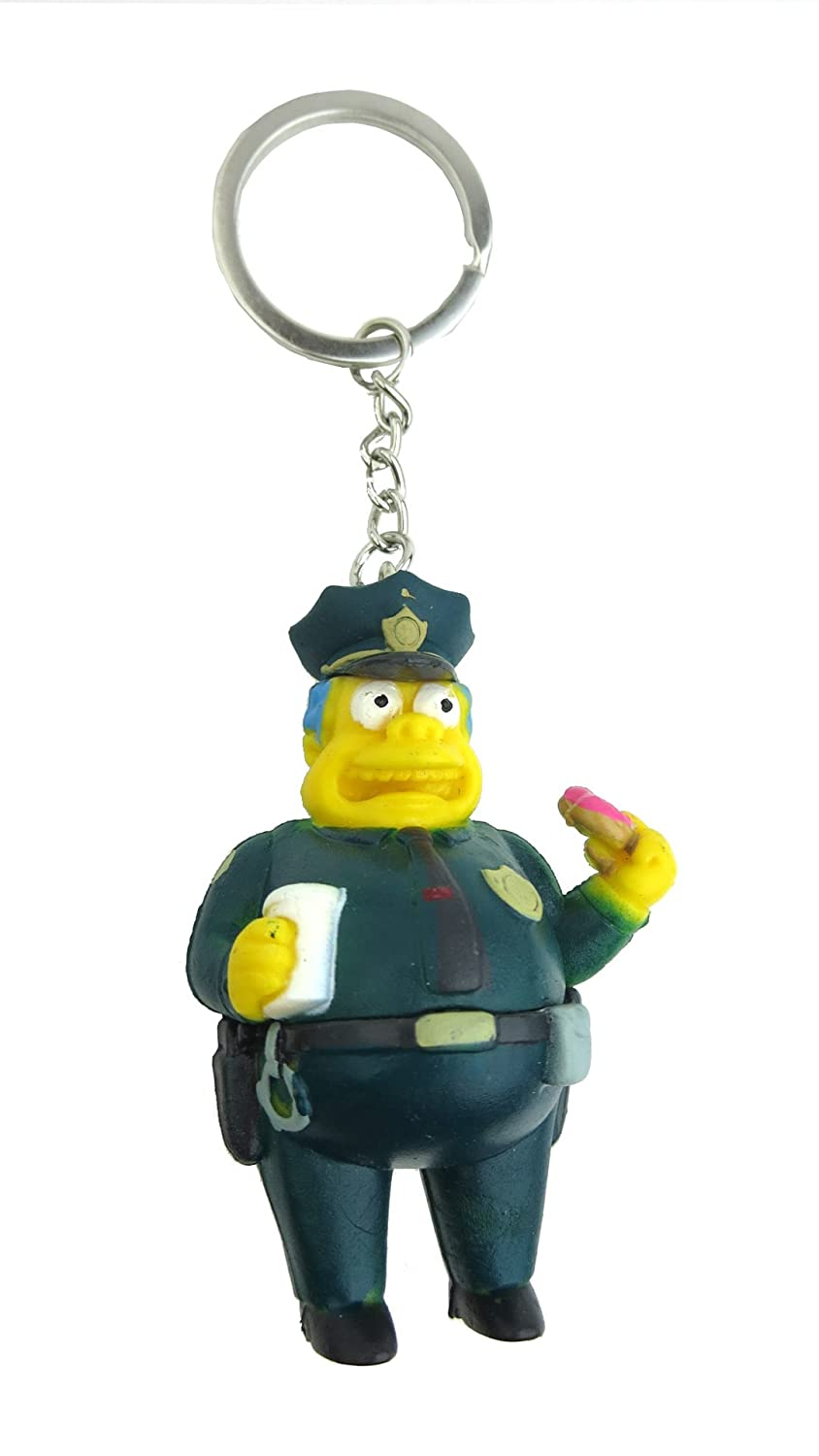Fox The Simpsons Chief Wiggum 3D PVC Key Ring Monogram International 27741