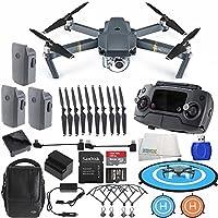 DJI Mavic Pro Fly More Combo Collapsible Drone Bundle