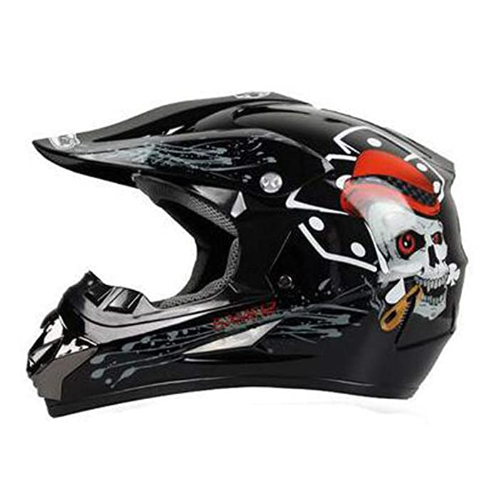 Qianliuk Hombres Moto Casco capacete Motocross Off Road Motocross Casco Mountain Bike Racing Casco: Amazon.es: Deportes y aire libre