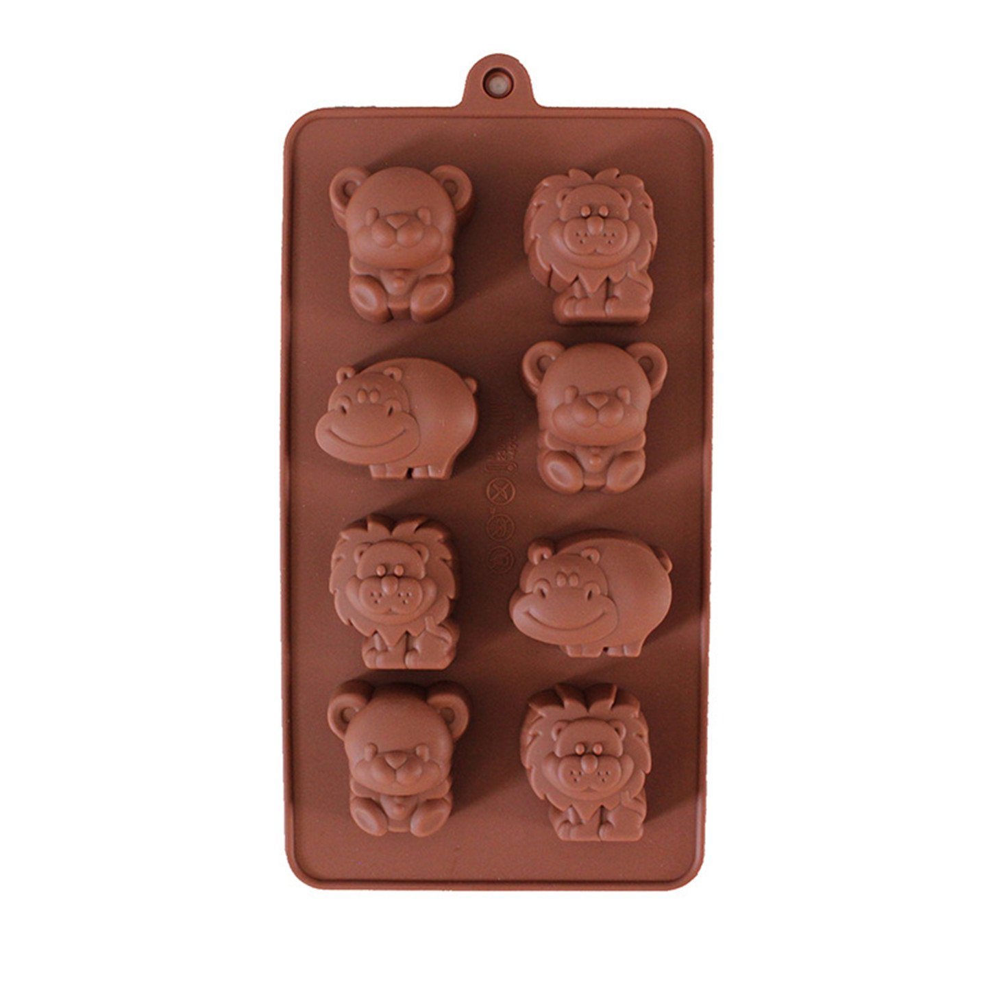 FantasyDay® Lot de 2 Antiadhésif Moules en Silicone pour Muffins, Gâteau au Chocolat, Moule à Savons, Cupcake Et Gelée - Moule Forme Dessin animé Voitures - Ustensile de Cuisine Qualite Superieur