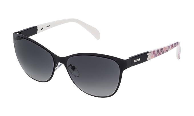 Tous STO343-580530, Gafas de Sol para Mujer, Shiny Black, 58: Amazon.es: Ropa y accesorios