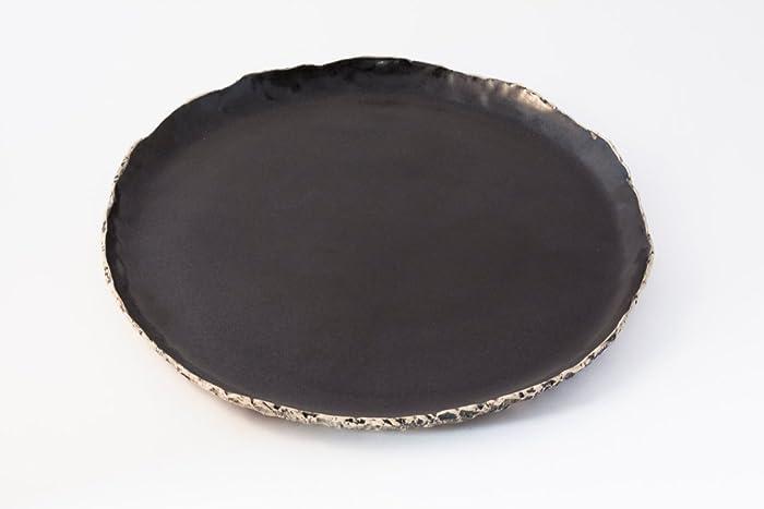 Black dinnerplate black ceramic plate Handmade dinner plate stoneware plates Organic dinnerware & Amazon.com: Black dinnerplate black ceramic plate Handmade dinner ...