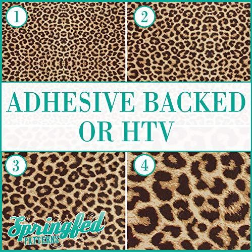 LEOPARD SPOTS PATTERN #1 Pattern #1 Heat Transfer or Adhesive Vinyl CHOOSE YOUR SIZE! Leopard Spots Pattern ...