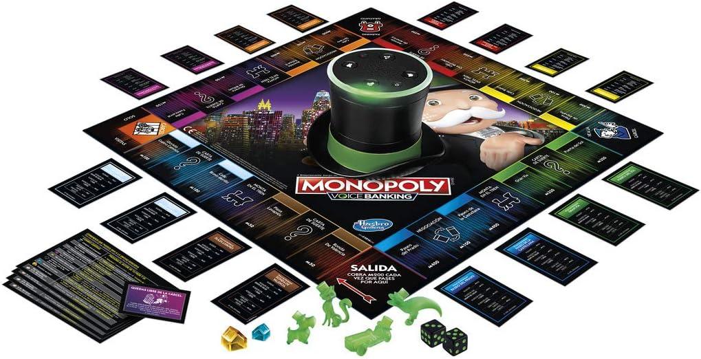 Monopoly - Voice Banking (Hasbro E4816SO0): Amazon.es: Juguetes y juegos