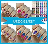 168Pcs/12 Premium Sheet($0.99/ Sheet) - Love Nest Nail Art Tips Stickers ...