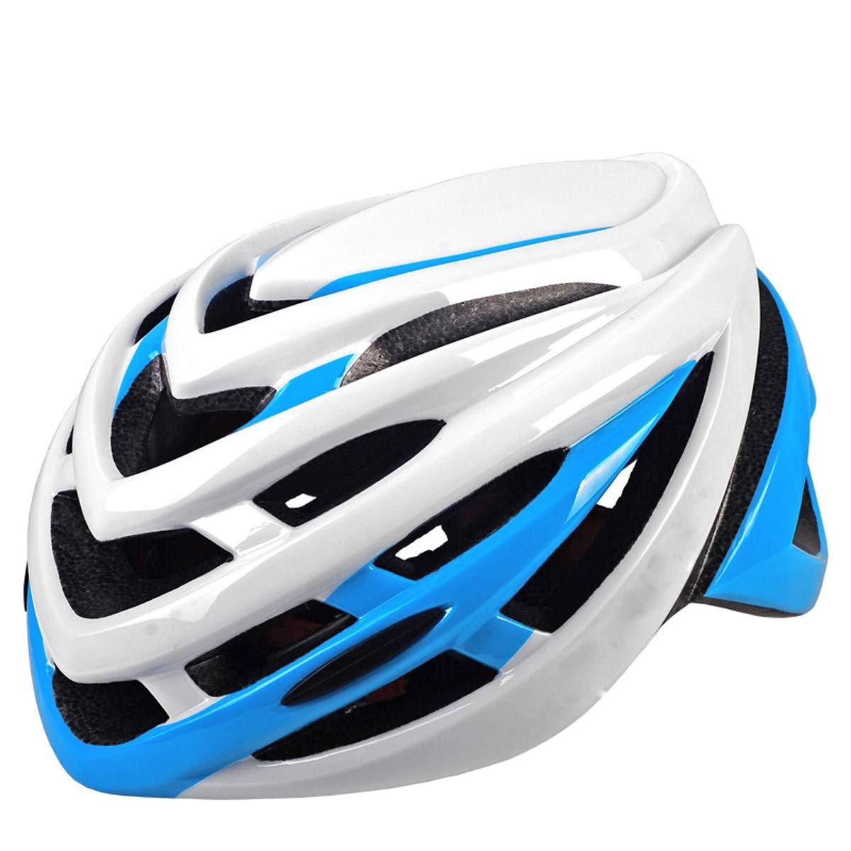 KuanDar Fahrradhelm, Verstellbarer Sport Fahrradhelm Für Fahrradfahren Sicherheit Für Erwachsene, Geeignet Für Kopfumfang 60CM-64CM
