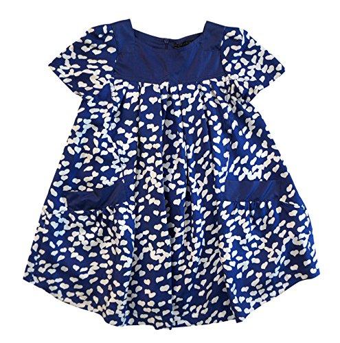 Little Marc Jacobs Silk Heart Dress (Dress Jacobs Silk Marc)