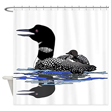 Amazon CafePress Calling Loon Shower Curtain Decorative Fabric