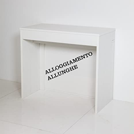 Tavolo Consolle Allungabile Laccato.Group Design Tavolo Consolle Allungabile Made In Italy Unika