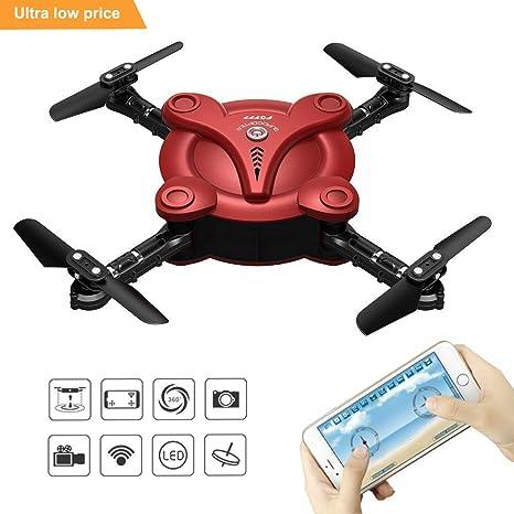 zantec flexible plegable aerofoils Quadcopter Drone con Cámara FPV ...