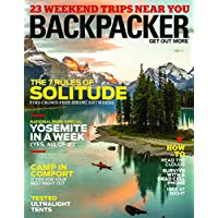1-Year (9 issues) of Backpacker Magazine Subscription
