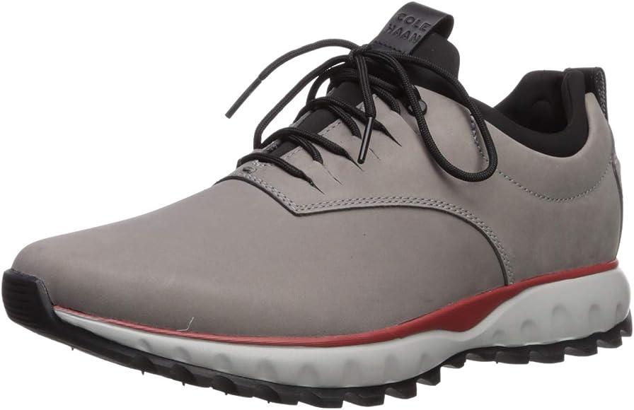 5b3ba10724 Cole Haan Men's Zerogrand Explore All Terrain Oxford Waterproof Hiking Shoe,  Ironstone/Ivory,