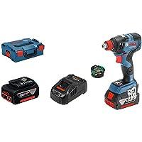 Bosch Professional Batteridriven skruvdragare GDX 18V–200 C (med batteri, 18 volt, vridmoment: 200 Nm, i L-BOXX)