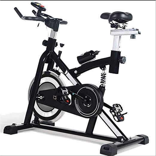 MIAO Inicio Silent Exercise Bike Deluxe Indoor Fitness Bike ...