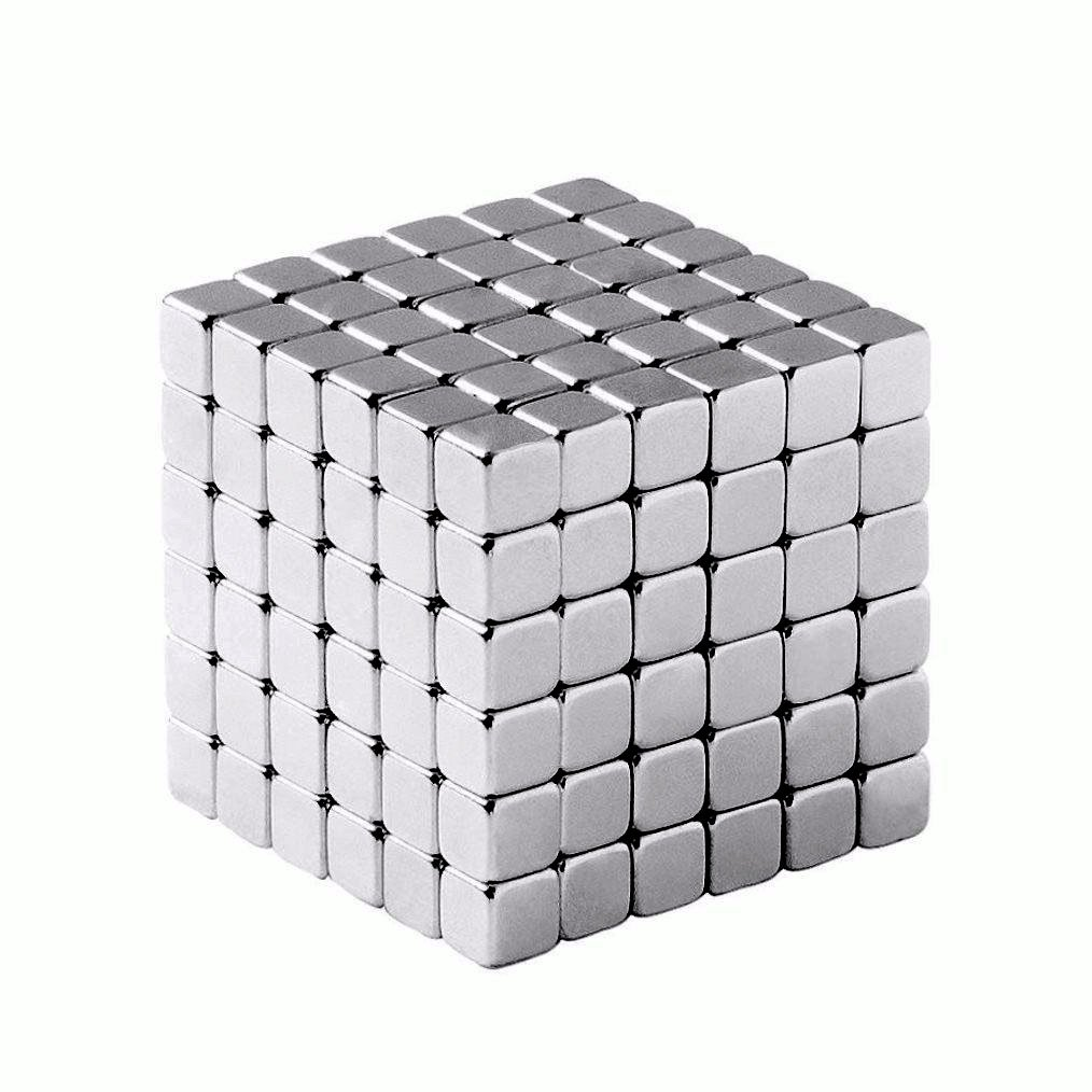 Multi-Use Magnetic Holder - Small Square Cube Magnets (216 Pack) by aElement