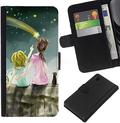 Opción de regalo/smartphones Piel Carcasa para Sony Xperia Z1 L39 ...
