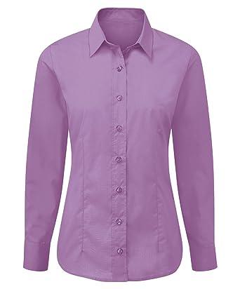 Alexandra STC-NF90LI-24 Easy-care - Camiseta de manga larga para mujer, 65% poliéster, 35% algodón, talla 24, color lila: Amazon.es: Industria, empresas y ciencia