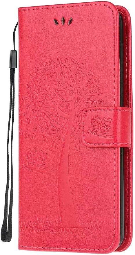 Funda para Huawei P40 Lite 5G Funda Libro, Cartera Estuche Antigolpes Golpes de Cuero con Libro