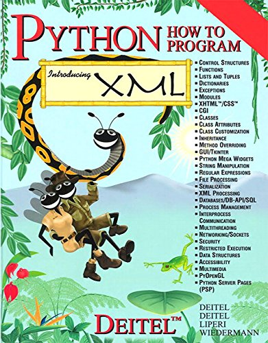 Python How to Program(Parts A & B) by Pearson